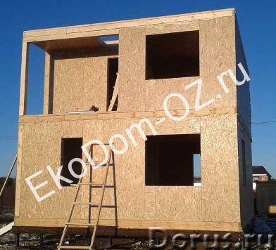 Строим дома из СИП панелей под ключ. Кровля из СИП панелей. Продажа СИП панелей - Строительные услуг..., фото 3